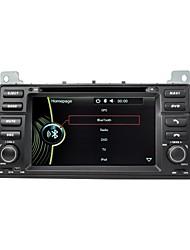 "7 ""gps stéréo autoradio navigation autoradio pour BMW série 3 E46 nav m3sat grimacer rds radio Bluetooth 6.0"
