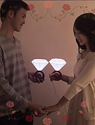 Valentijnsdag diamant klein nachtlampje romantiek