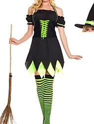 sexy nero halloween strega delle donne costume