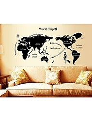 Wall Stickers Wall Decals, Style World Tirp PVC Wall Stickers