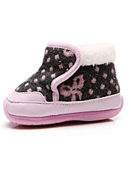 BBGOBBWORLD High Quality Suede Baby with Thick Cotton Shoes Antiskid Soft bottom Boots