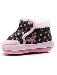 bbgobbworld hochwertige Velours-Baby mit dicken Baumwollschuhe rutschfeste weiche untere Schuhe