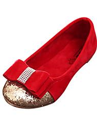 Zapatos de bebé - Planos - Vestido - Semicuero - Negro / Rosa / Rojo