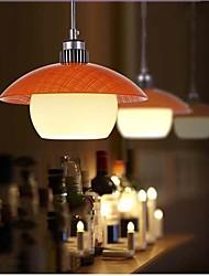lampes suspendues moderne et créative Rincer conduit Light Mount aluminium métallique 1 verre la lumière