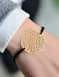 Fashion Women Multi Heart Stamping Elastic Bracelet