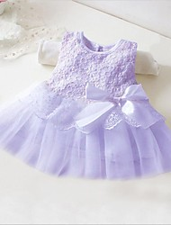 Girl's Princess Gauze Sleeveless Bowknot Small Yards Dress