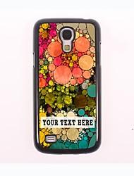 caja del teléfono personalizado - caso del diseño del metal de la redondez de un Samsung Galaxy S4