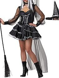 sexy strega scarlatto Halloween delle donne adulte costume