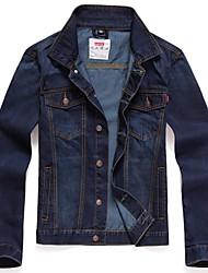 skymoto® Männer nehmen Jeansjacke