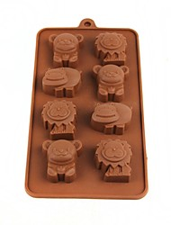 Animal Ice Lattice Ice Cubes Chocolate Mold