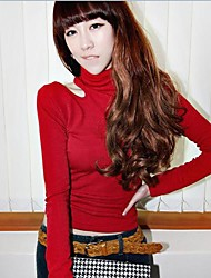 Women's Red/White/Yellow Blouse Long Sleeve