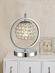 una lámpara de escritorio de cristal K9 lámpara de mesa de cristal creativo mundo de noche salón oficina mini luces de mesa