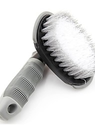 LEBOSH®Bar Arc Tire Brush Steel Brush Bent Car Wash Brush