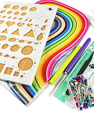 Quilling Paper DIY Craft Art Decoration Kit / 7PCS Set