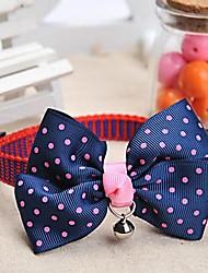 Dog Collar Adjustable/Retractable Blue Nylon