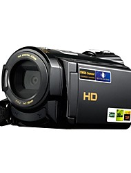 1080P/15fps Full HD Camcorder With 16.0MP With 3.0Inch LCD Touch Screen Dual Card Slots(TF/SD) Video Camera (HDV-502ST)