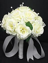 Elegant Round Shape Wedding Bouquets