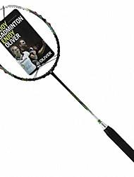 white + black Vollcarbon sowohl Angriff und Verteidigung Badmintonschläger Edelmut 8000