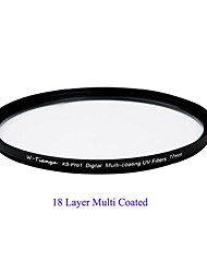 TIANYA® 77mm MCUV Ultra Slim XS-Pro1 Digital Muti-coating UV Filter for Canon 24-105 24-70 17-40 Nikon 18-300 Lens
