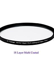 tianya® 77mm MCUV ultra slim xs-Pro1 digital Muti-Beschichtung UV-Filter für Canon 24-105 24-70 17-40 18-300 nikon Objektiv