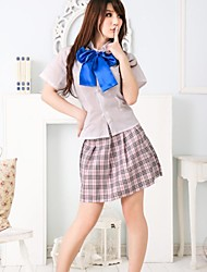 Women'ssexy lingerie game uniforms school uniforms plaid school uniform bar service