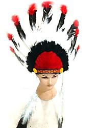 karin Andreasson estilo emiratos indio carnaval diadema