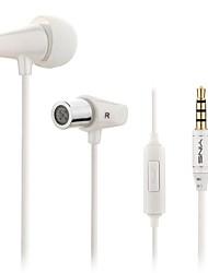 yinshu ® x2 moda menores de cerâmica 3,5 milímetros esportes headphones graves profundos de ouvido com microfones para telemóveis