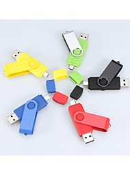 4GB Rotating USB / Micro USB OTG Flash Drive