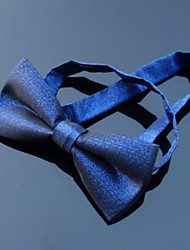 XINCLUBNA®Men's New Pre-tied Navy Blue Shiny Adjustable Bowtie 1PC (More Colors)
