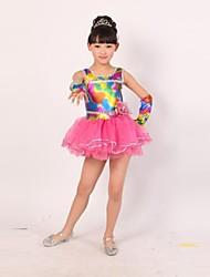 vestido de baile de la chica de moda lindo moderno