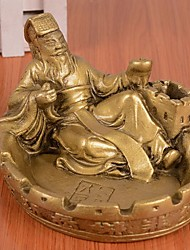 di alta qualità di stile cinese ashtray-- metallo poeta modello