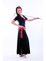 Belly Dance Stage Performance Outfits with Headpieces Elegant Dress (More Colors)