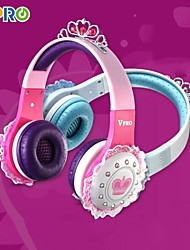 VPRO® DE801 Specially Designed for Children Wearing Stereo Over-ear Headset for iPhone 6/6plus/5S (Assorted Colors)