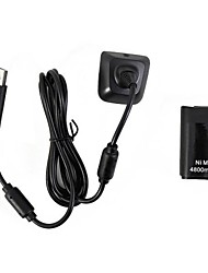 4800mAh Ni-MH Battery Pack & Chargeable Cable for Xbox 360