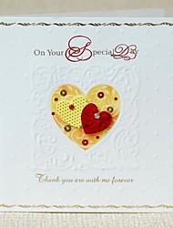 mini-concêntrico milhão graças abençoe cartão