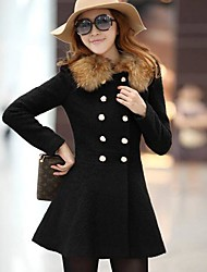 W.E.B  Women's  European Fashion Elegant Cheap Coat