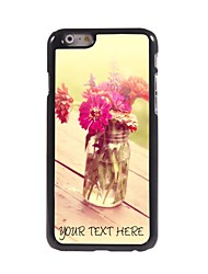 Personalized Phone Case - The Flower Of The Board Design Metal Case for iPhone 6 Plus