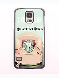 personalizzato phone case - telefono cassa del metallo di disegno per la galassia s5