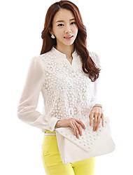 di x-in®women moda v-collo chiffon blouse