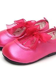 Zapatos de bebé Al aire libre/Vestido/Informal/Fiesta y Noche Piel Bailarinas Verde/Rosado/Rojo