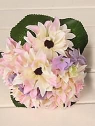 Elegant Fresh Multicolor Flower Wedding Bridal Bouquets