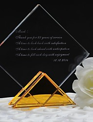 Gifts Bridesmaid Gift Personalized Custom  Prismatic Crystal Ornaments