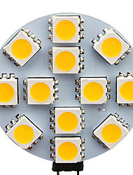1.5W G4 Spot LED 12 SMD 5050 70 lm Blanc Chaud / Blanc Froid AC 12 V 20 pièces
