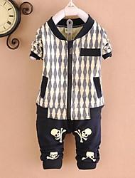 conjuntos de ropa de algodón de moda del muchacho
