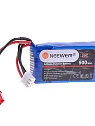 neewer® 7,4 25c 900mAh 2s RC Li-Po аккумулятор Jst плагин