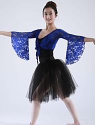 Ballet Tops Women's Lace Long Sleeve 160:64,170:64