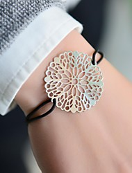 Fashion Women Cut Out Stamping Elastic Bracelet