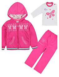 Girl's Cotton Blend Clothing Set , Spring/Fall Long Sleeve