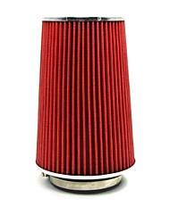 """tirol auto universale presa di aria fredda ad alto flusso filtri aria 3 """"adattatore dual imbuto lavora per 76-89-101mm tondo conico"""