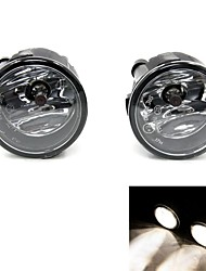 TIROL  Fog Driving Light Lamp kit H11 55W OEM Replacement for Nissan Tiida Pickup  Truck Smoke Front Bumper Lamps Pair